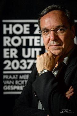 Portrait Gil Penalosa in Rotterdam