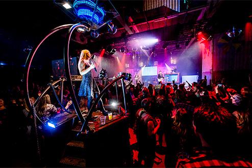 Personeelsfeest in Van Nellefabriek in Rotterdam