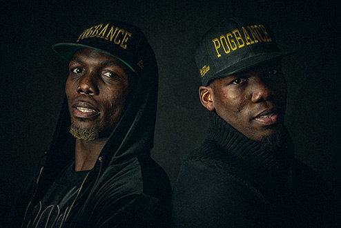 Pogba brothers in my Rotterdam studio