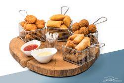 Food fotografie met losse schaduw