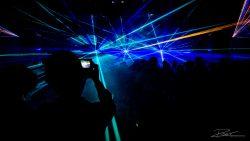 Lasershow tijdens Personeelsfeest Veldhoven-6