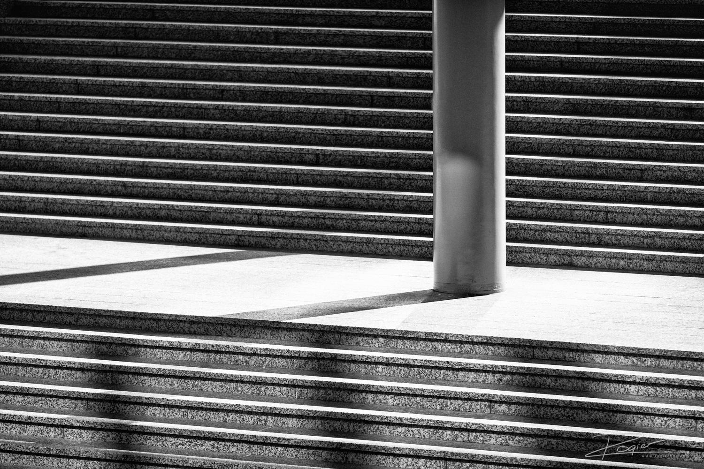 Trap en Pilaar Accenture gebouw op de Amsterdam Zuidas