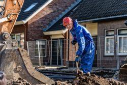 Bouw Fotograaf - Afgraven verontreinigde grond