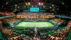 Event - locatie in gebruik - ABNAMRO Tennis tournooi in AHOY Rotterdam