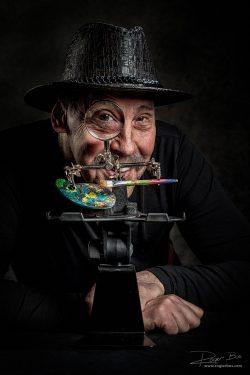 Portret van Guus van Vugt - Het oog van de Meester - door Fotograaf Rogier Bos