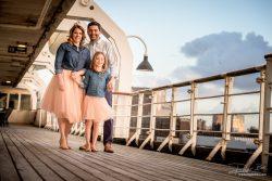 Familieportret op SS Rotterdam