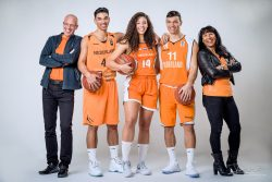 Familieportret Basketballers