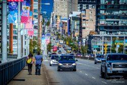 Infrastructuur - straatbeeld Vancouver