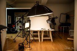 Product fotografie in de studio