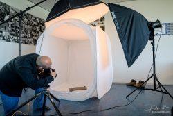 Product fotografie industrieel tent