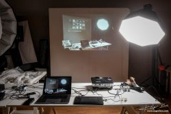 Projectie in de studio