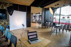 Studio in Stadion Galgenwaard