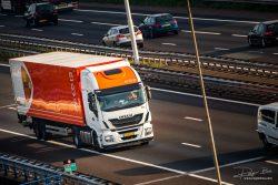 PostNL truck op snelweg