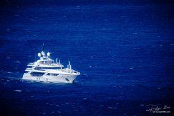 Verkeer - Superjacht voor Griekse kust