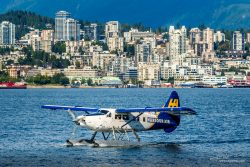 Water plane Harbour Air in Vancouver