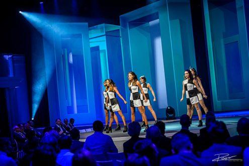 Foto van optreden tijdens een event in het NBC in Nieuwegein door fotograaf Rogier Bos