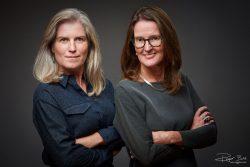 Portret-twee-onderneemsters