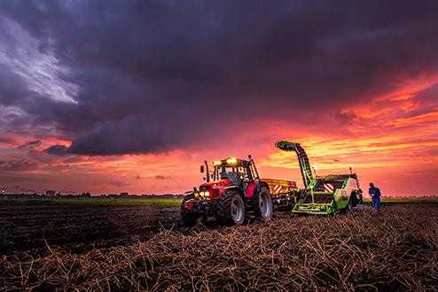 Fotograaf voor bouw, productie, haven, logisitiek en agrarische sector