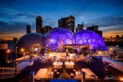 Evenement Drijvend Paviljoen in Rotterdam