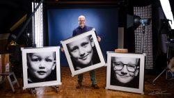 Familieportret - 3 grote afdrukken voor aan de muur