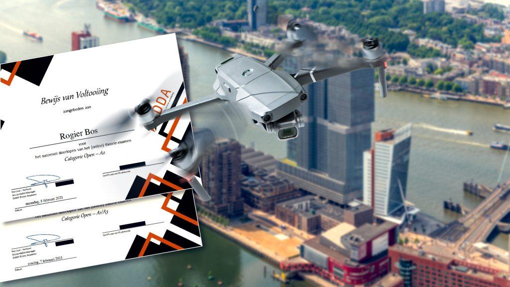 Deze fotograaf heeft zijn drone vliegbewijzen gehaald en mag nu vliegen!