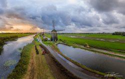 Drone foto en video bij weg- en waterbouwproject