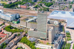 Luchtfotografie - Rotterdam First gebouw