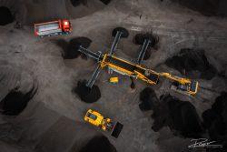Dronefotografie van infra project