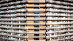 Dronefotografie van stedelijke bebouwing