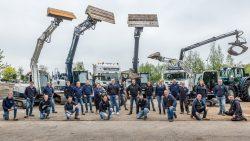 Groepsfoto Bouw en infra projectbureau-1