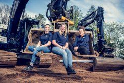 Groepsfoto administratie team Bouw en infra projectbureau-1