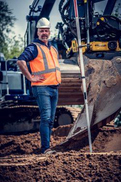 Stoer portret voor HR campagne bouw- en infra bedrijf