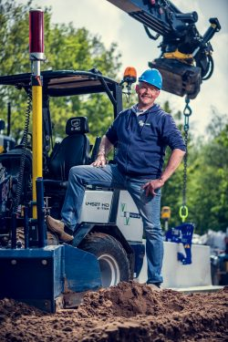 Portret voor HR campagne bouwbedrijf