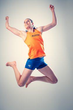Portret van een top-athlete